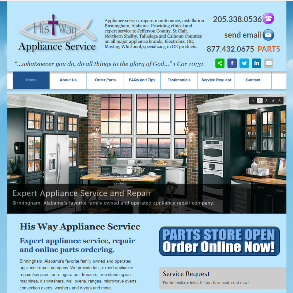 His Way Appliance Service