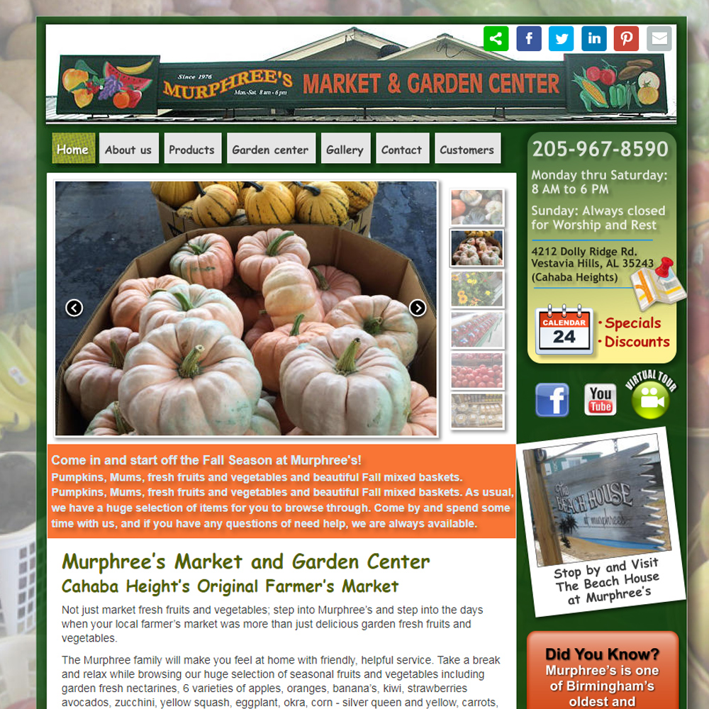 Murphree's Market and Garden Center