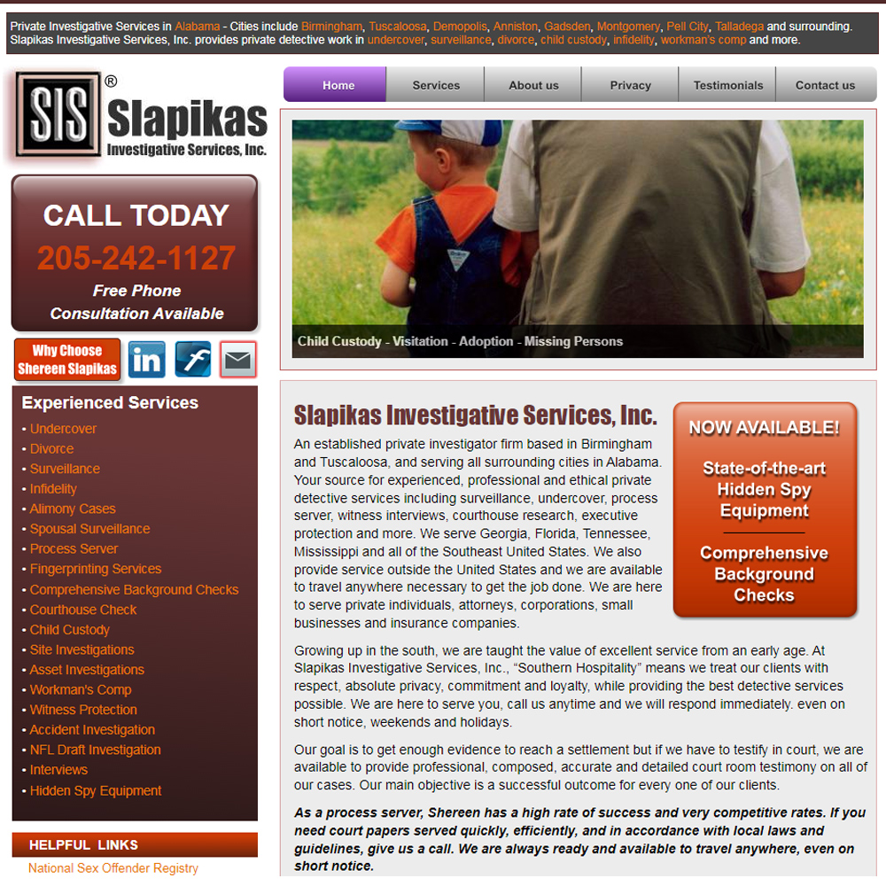 Slapikas Investigative Services, Inc